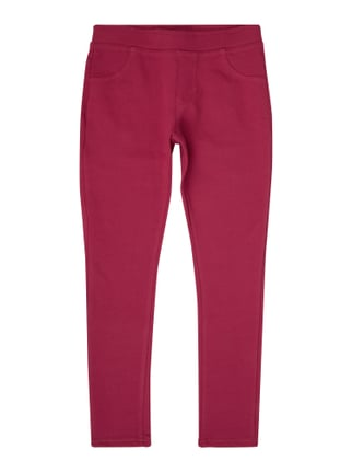 Jeggings mit Stretch-Anteil Rosé - 1
