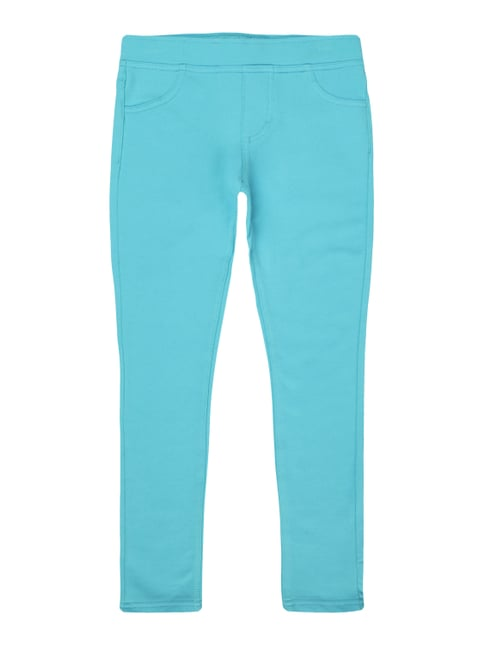 Jeggings mit Stretch-Anteil Blau / Türkis - 1