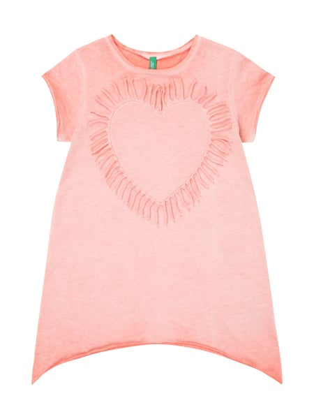 2fffbfb30fae UNITED-COLORS-OF-BENETTON Shirt im Washed Out-Look mit Herz aus ...