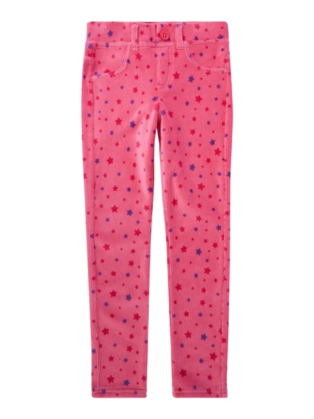 93dd197405 UNITED-COLORS-OF-BENETTON Skinny Fit Leggings aus Cord in Rosé ...
