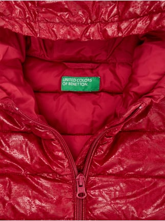 Steppjacke mit Allover-Muster United Colors of Benetton online kaufen - 1