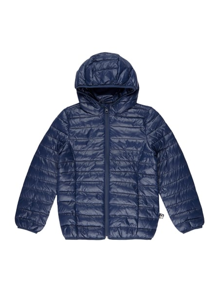 139748d4cc United Colors of Benetton Steppjacke mit Kapuze - wasserabweisend Blau /  Türkis - 1