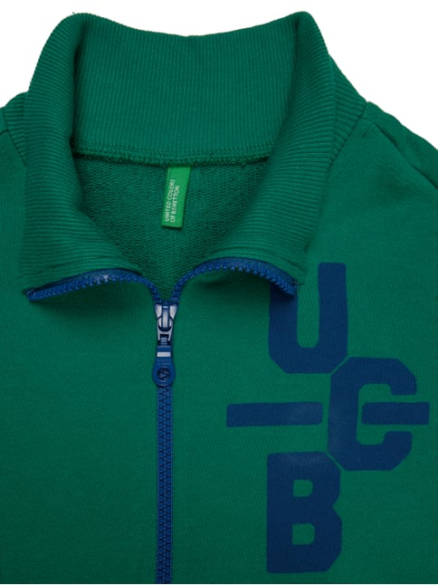 Sweatjacke mit Print United Colors of Benetton online kaufen - 1
