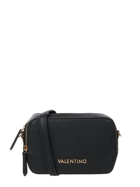 Valentino by Mario Valentino Crossbody Bag mit Logo-Applikation Schwarz - 1