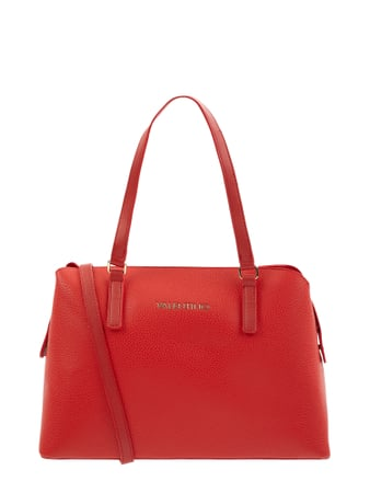 Valentino by Mario Valentino Handtasche in Leder-Optik Modell 'Superman' Rot - 1
