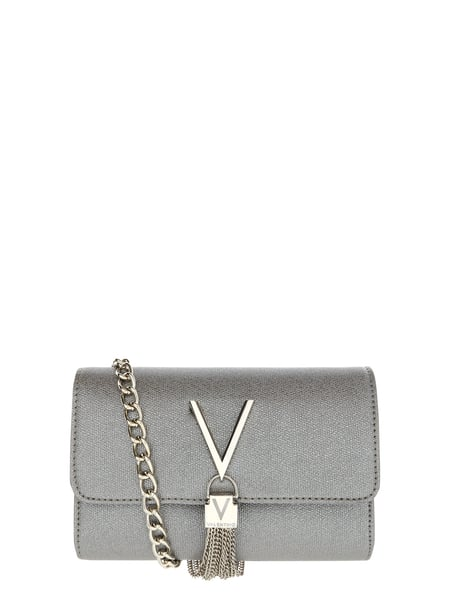 Valentino by Mario Valentino Crossbody Bag in Metallicoptik Grau / Schwarz - 1
