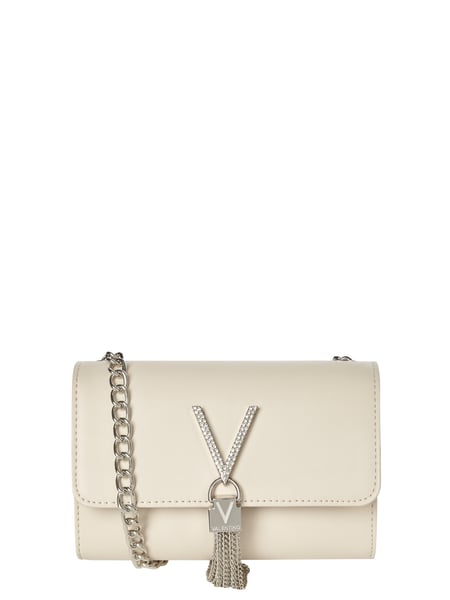 Valentino by Mario Valentino Crossbody Bag mit Logo-Applikation Weiß - 1