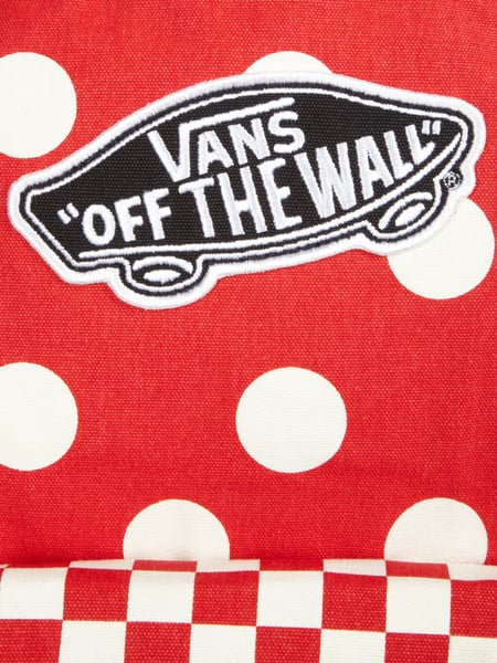 d7be8f58344ae VANS Rucksack mit All-Over-Muster in Rot online kaufen (9210476 ...