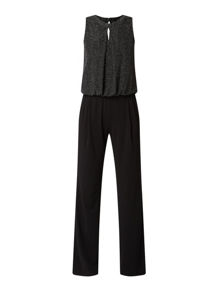 Vera Mont Jumpsuit mit Cut Out Schwarz - 1