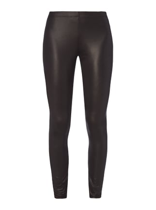 Leggings in schimmernder Optik Grau / Schwarz - 1