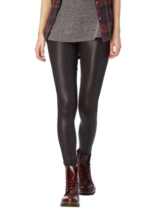 Vero Moda Leggings in schimmernder Optik Schwarz - 1