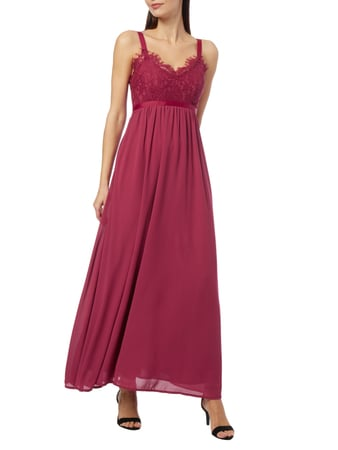 Vero Moda Maxikleid im Empire-Stil in Rot - 1