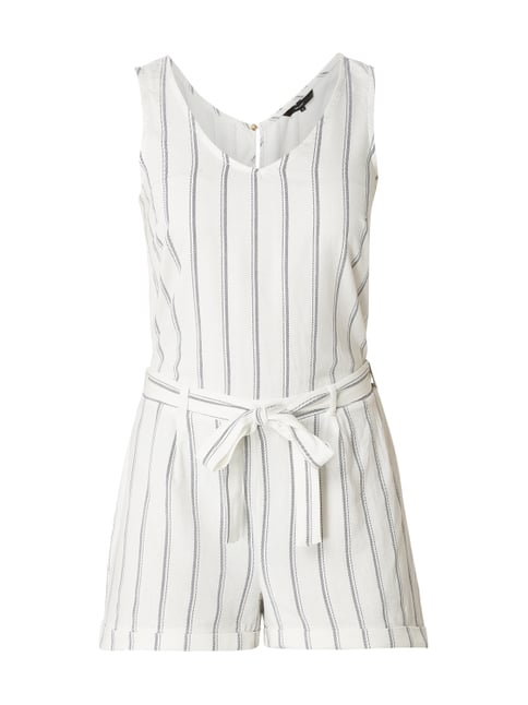 finest selection 5d116 a22ae Playsuit aus Leinen-Viskose-Mix