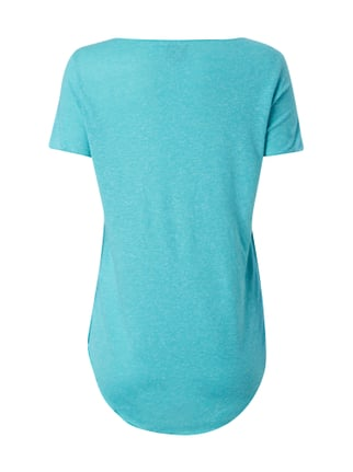 Vero Moda Shirt mit Nähten im Inside-Out-Look Aqua Blau - 1