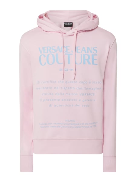 Versace Jeans Couture Hoodie mit Logo-Print Rosa - 1