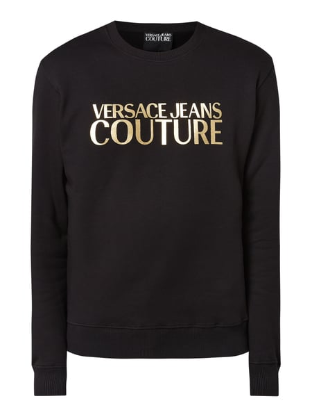 versace jeans couture pullover schwarz