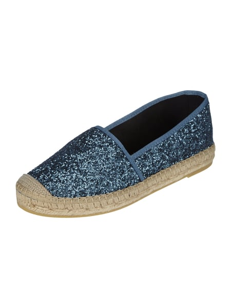 vidorreta espadrilles mit glitter effekt in blau t rkis online kaufen 9639221 p c online. Black Bedroom Furniture Sets. Home Design Ideas