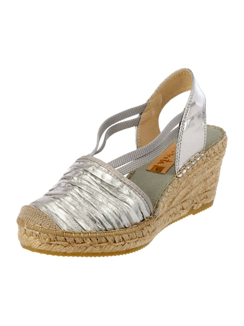 Wedges in Metallicoptik Gelb - 1