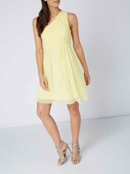 One shoulder kleid weib