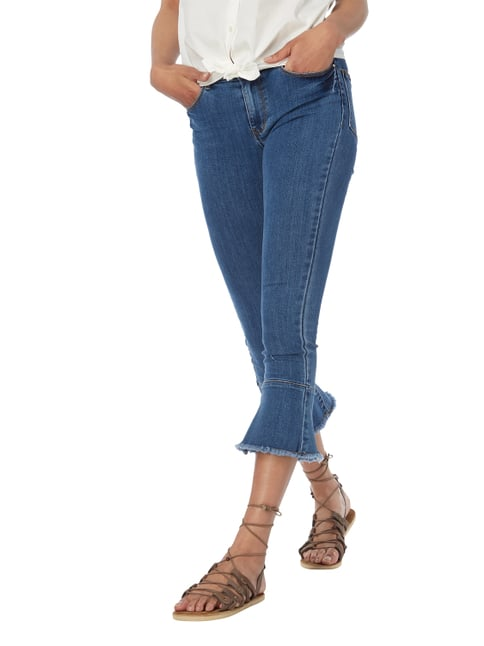 Vila Stone Washed Flared Cut Jeans Jeans - 1