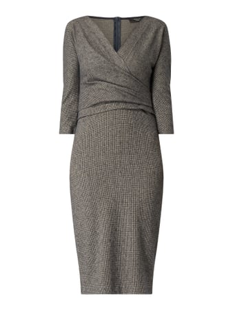 Weekend Max Mara Kleid in Wickel-Optik Blau - 1