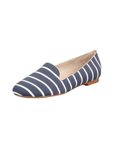 Loafer mit All-Over-Muster Blau / Türkis - 1