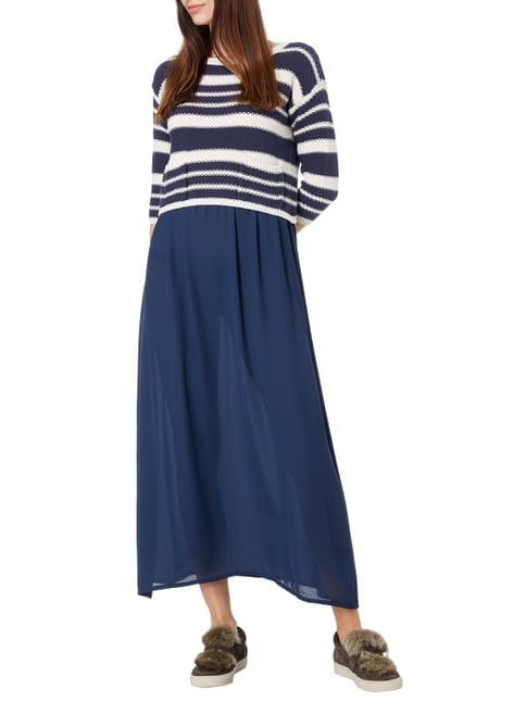 Weekend Max Mara Maxikleid im 2-in-1-Look in Blau / Türkis - 1