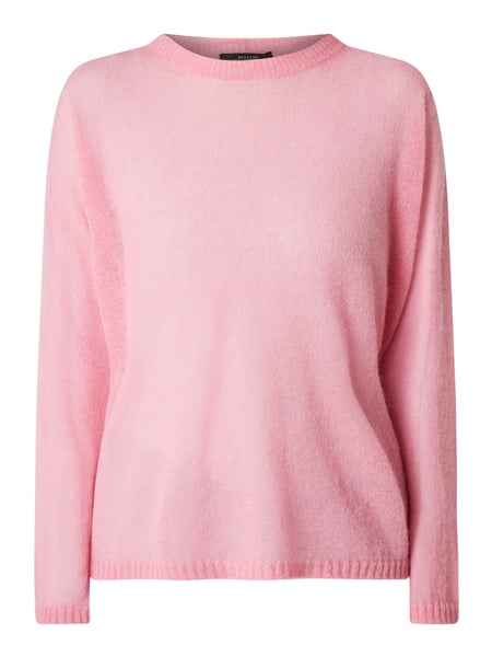 Weekend Max Mara Pullover mit Woll-Anteil Modell 'Pontida' Rosa - 1