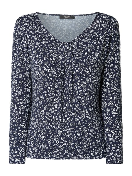Weekend Max Mara Shirt met all-over motief Blauw - 1