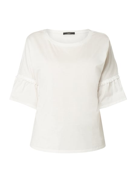 Weekend Max Mara Shirt met trompetmouwen Wit - 1