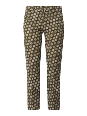 Weekend Max Mara Slim Fit Stoffhose mit Stretch-Anteil Modell 'Astrale' Grün - 1