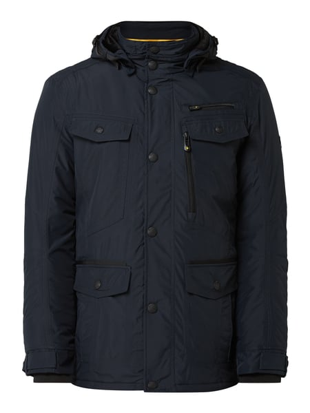 Wellensteyn Chester Winter 04 Funktionsjacke mit Kapuze Blau - 1
