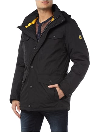 Wellensteyn Chester Winter 04 Funktionsjacke mit Kapuze Schwarz - 1