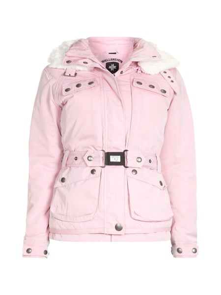 new york lowest discount good WELLENSTEYN Esquire Jacke mit abnehmbarer Kapuze in Rosé ...
