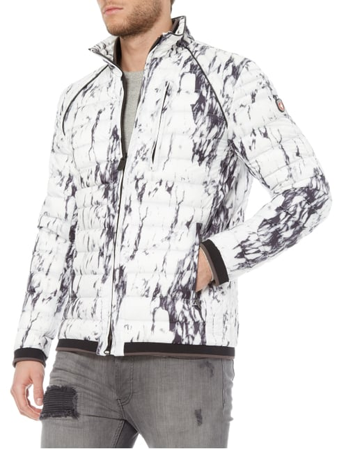Wellensteyn Molecule Men 788 Funktionsjacke mit Allover-Muster Stein - 1