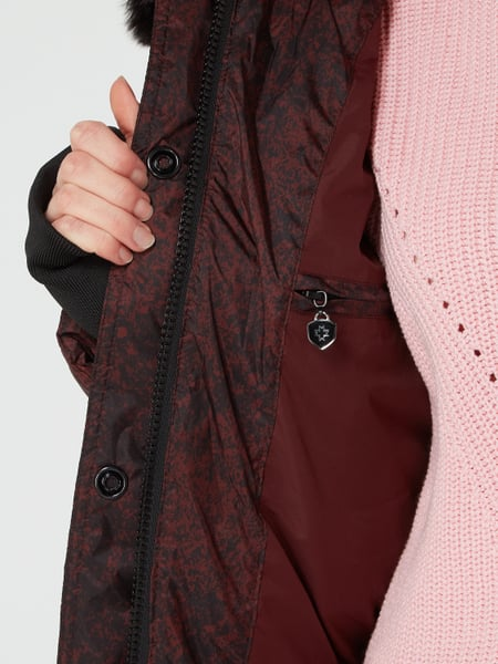 Kapuze Bordeaux Funktionsjacke Rot Mit Wellensteyn – 900 Queens LSMVGpqUjz