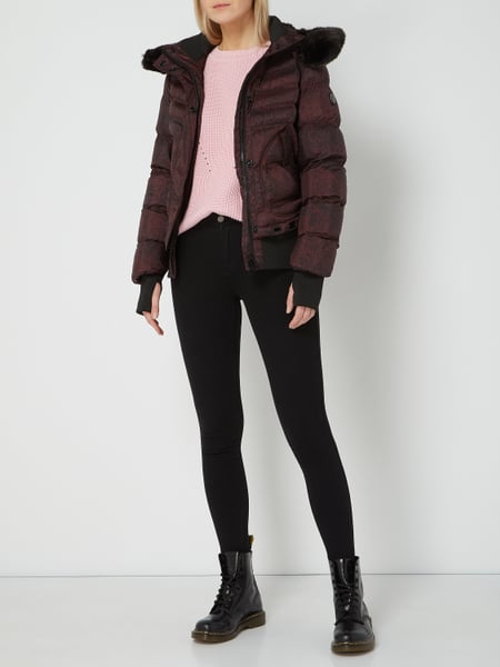 newest collection outlet for sale new list Wellensteyn – Queens 900 Funktionsjacke mit Kapuze – Bordeaux Rot