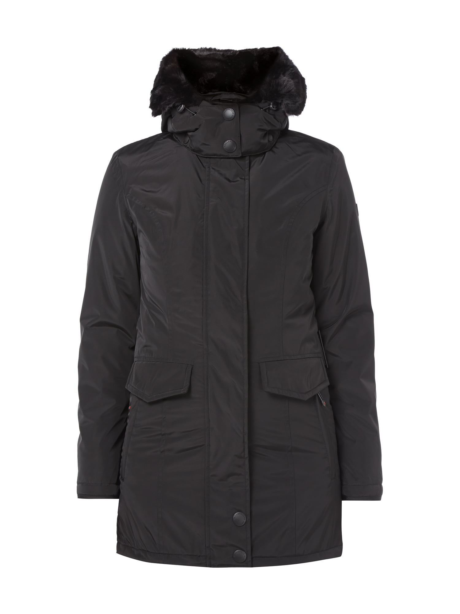 Winterjacken fur damen in schwarz