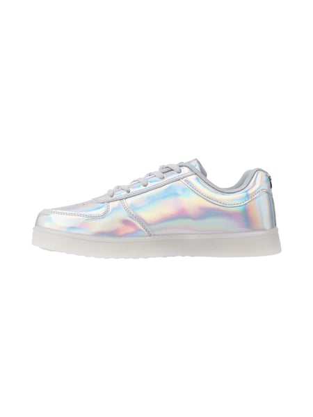 separation shoes 92059 ad242 WIZE & OPE – Sneakers mit LED-Sohle – Silber