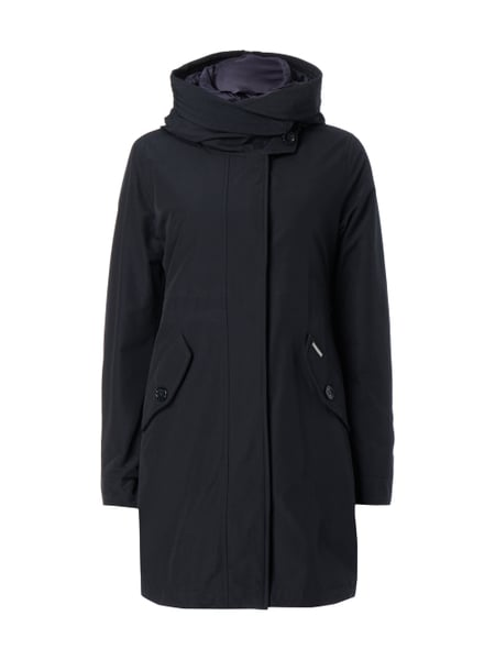 quality design be74a 6437e WOOLRICH 2-in-1-Parka mit Steppjacke in Blau / Türkis online ...
