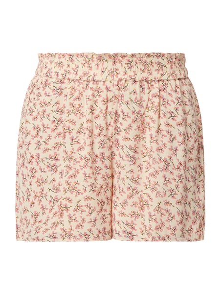 YAS Shorts mit floralem Muster Rosa - 1