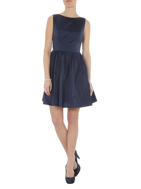 Young Couture Cocktailkleid mit Cut Outs in Blau / Türkis - 1