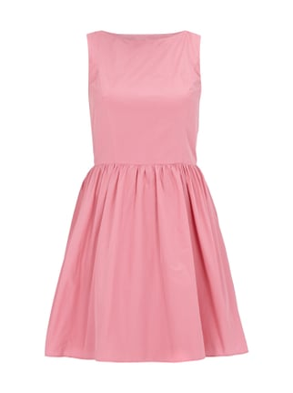 Cocktailkleid mit Cut Outs Rosé - 1
