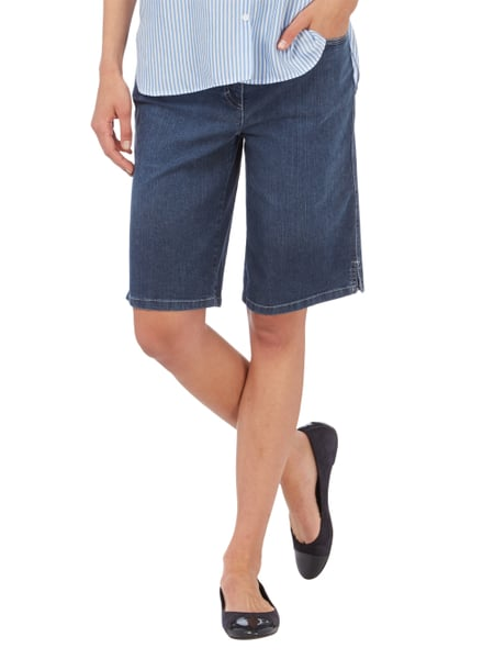 a597e171a12197 ZERRES Light Stone Washed Jeansbermudas in Blau / Türkis online ...
