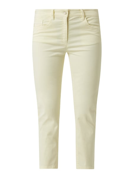 Zerres Regular Fit Caprihose mit Stretch-Anteil Modell 'Cora' Gelb - 1