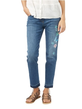 Zerres Stone Washed Comfort Fit Jeans Jeans meliert - 1