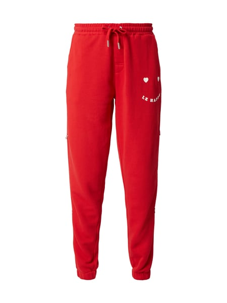 Zoe Karssen Sweatpants mit Flockprint Rot