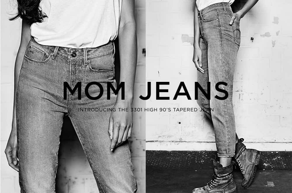 G-Star Mom Jeans