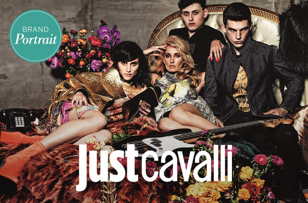 Brandportrait Just Cavalli